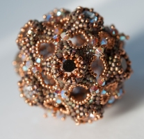 Spherriffic - Sabine Lippert (beaded by Sarah Cryer)